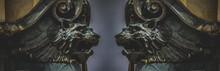 Gargoyles, Gothic Sculptures I...