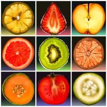 Frutta In Controluce