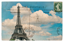 Vintage Postcard From Paris Wi...