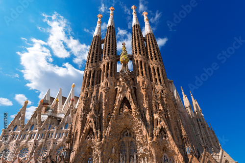 Photo  Temple Expiatori de la Sagrada Familia - Barcelona Spain