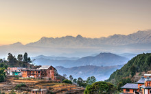 Bandipur Village In Nepal, HDR...