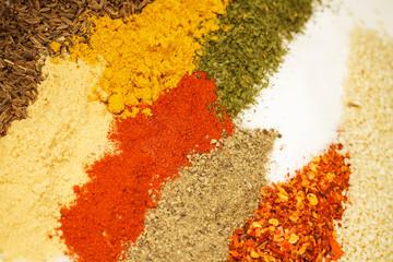Panel Szklany Przyprawy Spices