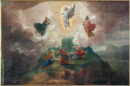 Bruges - The Transfiguration of the Lord in st. Jacobs church Canvas Print