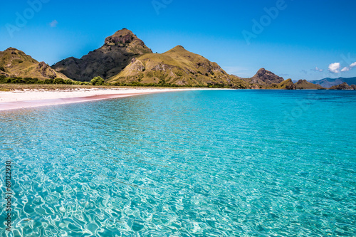 Padar Islan in Komodo Dragon National Park Indonesia
