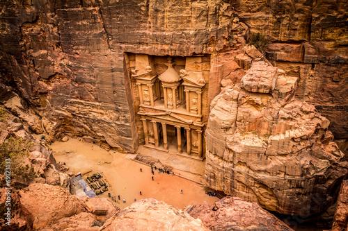 obraz dibond Petra Jordania
