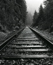 North Idaho Train Tracks