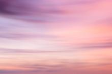 Defocused Sunset Sky Backgroun...
