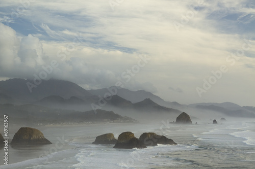 Pacific Coast Oregon Poster