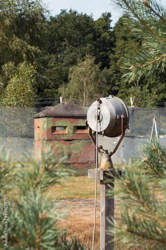 Photo  an der ehemaligen innerdeutschen Grenze, DDR BRD
