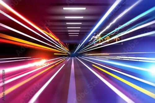 Fotografia Car Light Trails