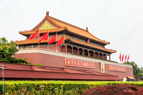 Staande foto Beijing Tian'anmen Square
