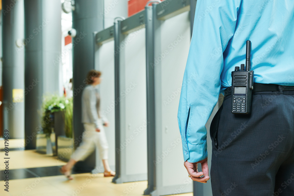 Fototapeta security guard