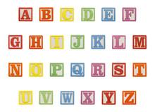 Alphabet Blocks Top