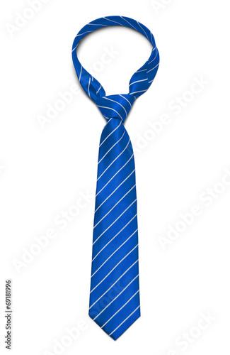 Fotografie, Obraz  Modrou kravatu