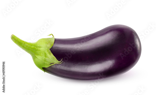 Photo  Isolated eggplant