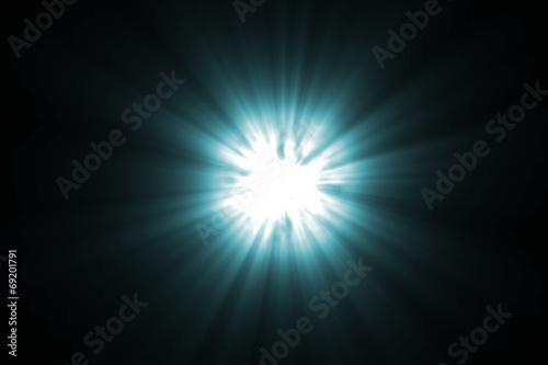 Photo  Light Rays