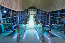 Metro Station In Dubai Interne...