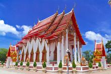 Pagoda In Buddha Wat Chalong, ...