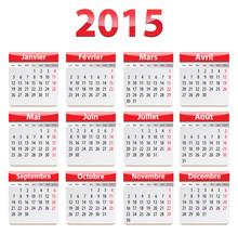2015 French Calendar