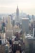 New York City skyline USA