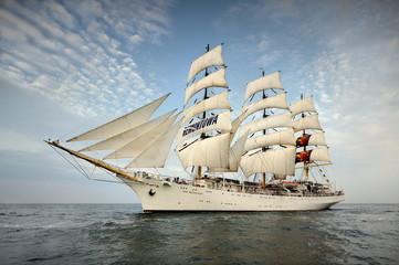 Jedrenjak, morski krajolik