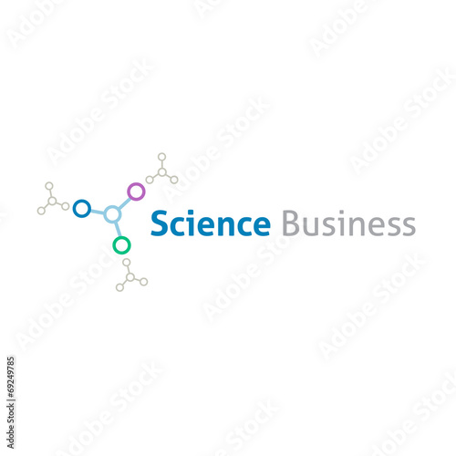 Chemical science business logo template - Buy this stock vector and ...