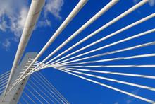 Abstract Detail Bridge In Podgorica, Montenegro