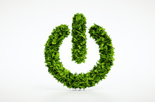 Ecology Natural Power On Butto...