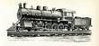 American locomotive 1890