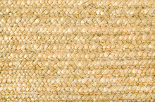 Wicker Background. Close Up On Woven Rattan Pattern.