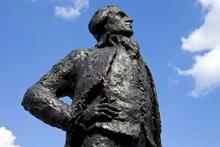 Thomas Jefferson Statue In Paris