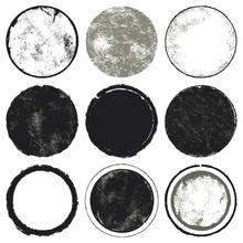 Circles Set. A Set Of Nine Cir...