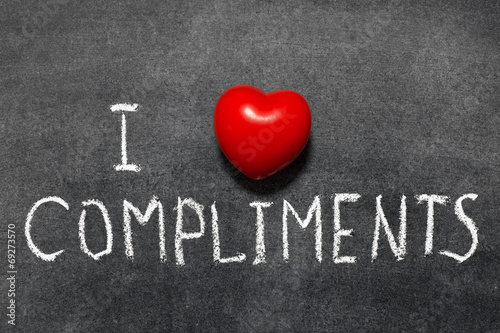 Fotografía  love compliments