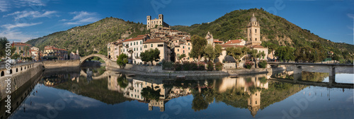 Canvas Prints Liguria Dolceacqua
