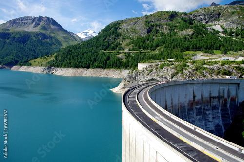 barrage de tignes-savoie Wallpaper Mural