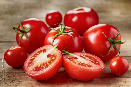Fotografie, Obraz  Fresh red tomatoes