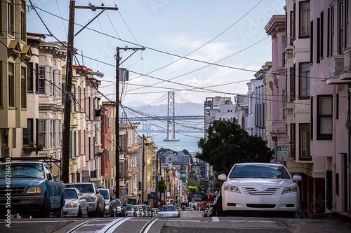Keuken foto achterwand San Francisco San Francisco road
