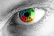 Iride Occhio Arcobaleno