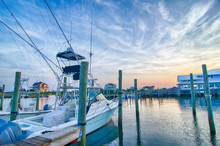 View Of Sportfishing Boats At ...