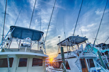 View Of Sportfishing Boats At ...