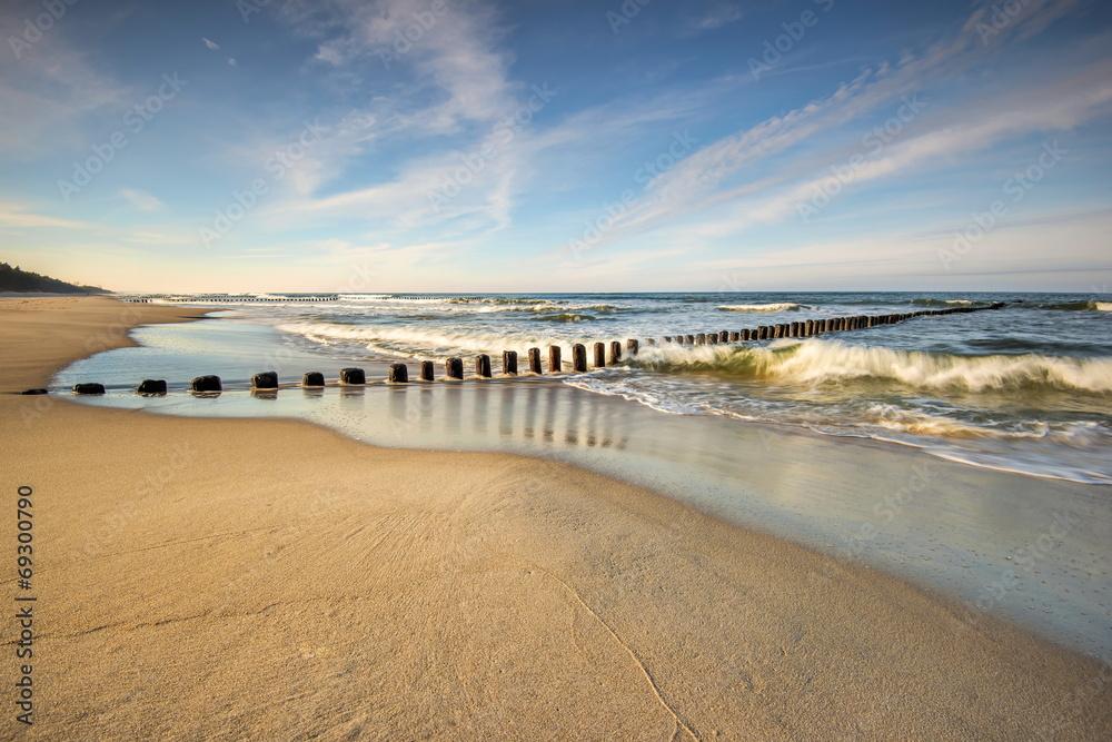 Fototapeta Krajobraz Morski, morze, plaża