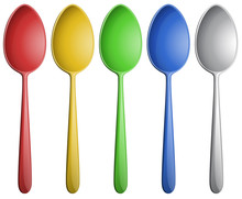 Color Spoons