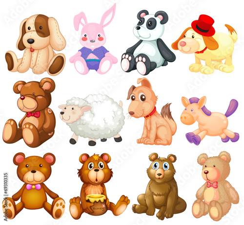 Stuffed animals #69310335