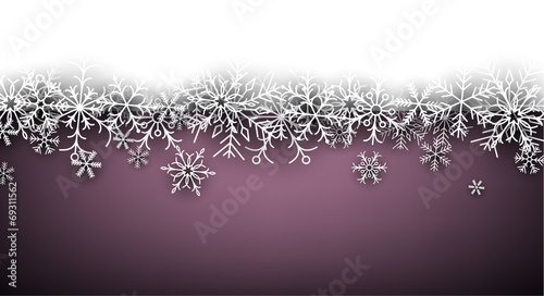 Christmas purple abstract background.