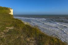 English Coastline In East Sussex