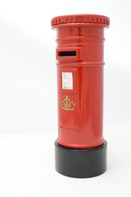 British Red Post Box (model)