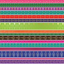 Paisley Border Patterns