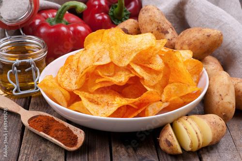 Fotografía  Kartoffelchips