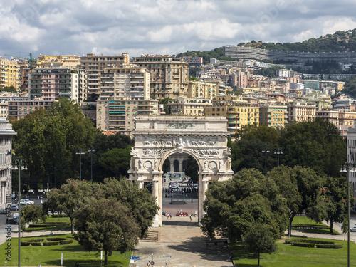 Fotografia  Piazza della Vittoria - Genua