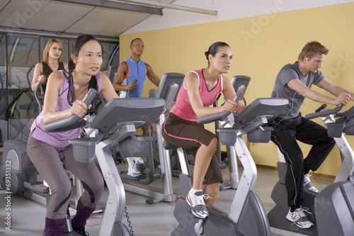 Fotografie, Obraz  People in the gym.
